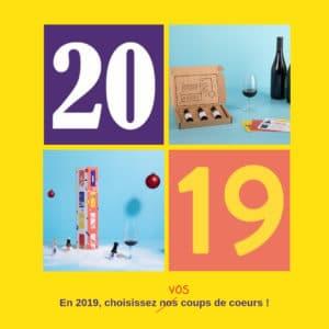 cartes de voeux 2019 Domaine du Goût