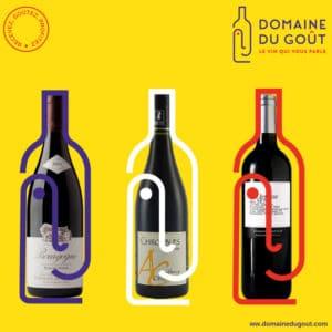 domaine du gout choississez votre vin préféré