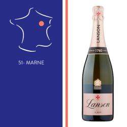 Champagne Lanson - Le rosé